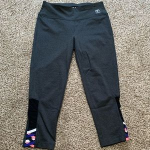 FILA Compression Cropped Workout Leggings